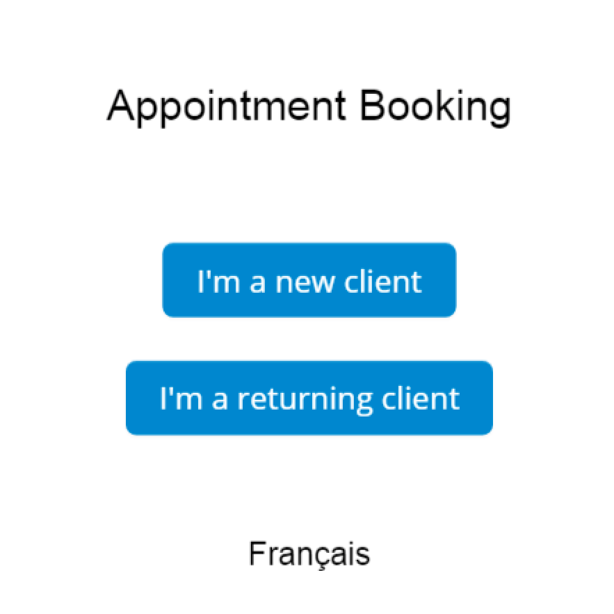 GOrendezvous booking appointment window for a psychologist